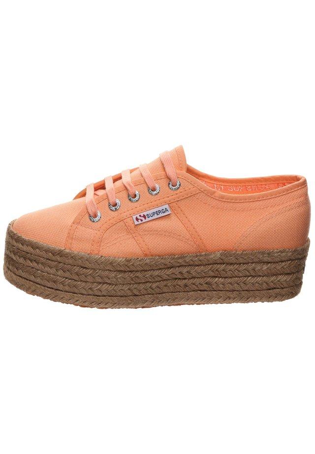 Sneakers basse - orange melon