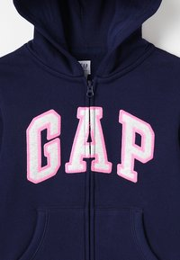 GAP - GIRLS ACTIVE LOGO - Mikina na zip - elysian blue - 4