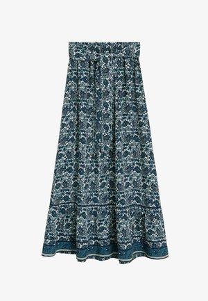 DOHA - A-line skirt - blau