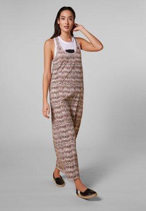 Długa sukienka - light safari