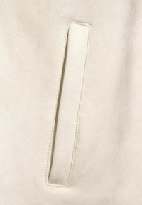 Cecil - OVERSHIRT IN VELOURS-OPTIK - Summer jacket - beige - 4