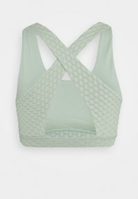Cotton On Body - WORKOUT CUT OUT CROP - Sujetador deportivo - mint chip texture