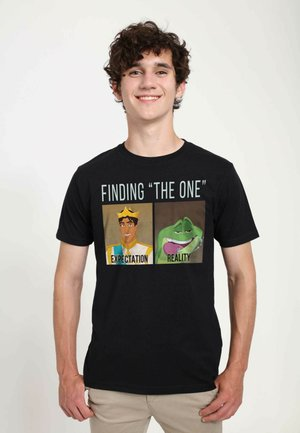 DISNEY UNISEX NAVEEN MEME  - T-shirts print - black