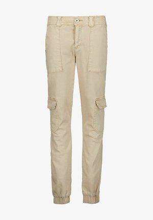 Cargo trousers - salmiak