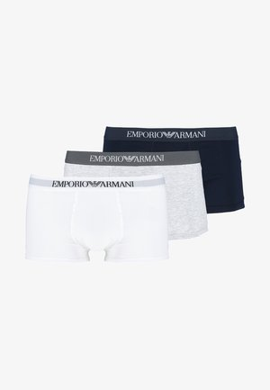 TRUNK 3 PACK - Pants - white/heather gray/navy blue