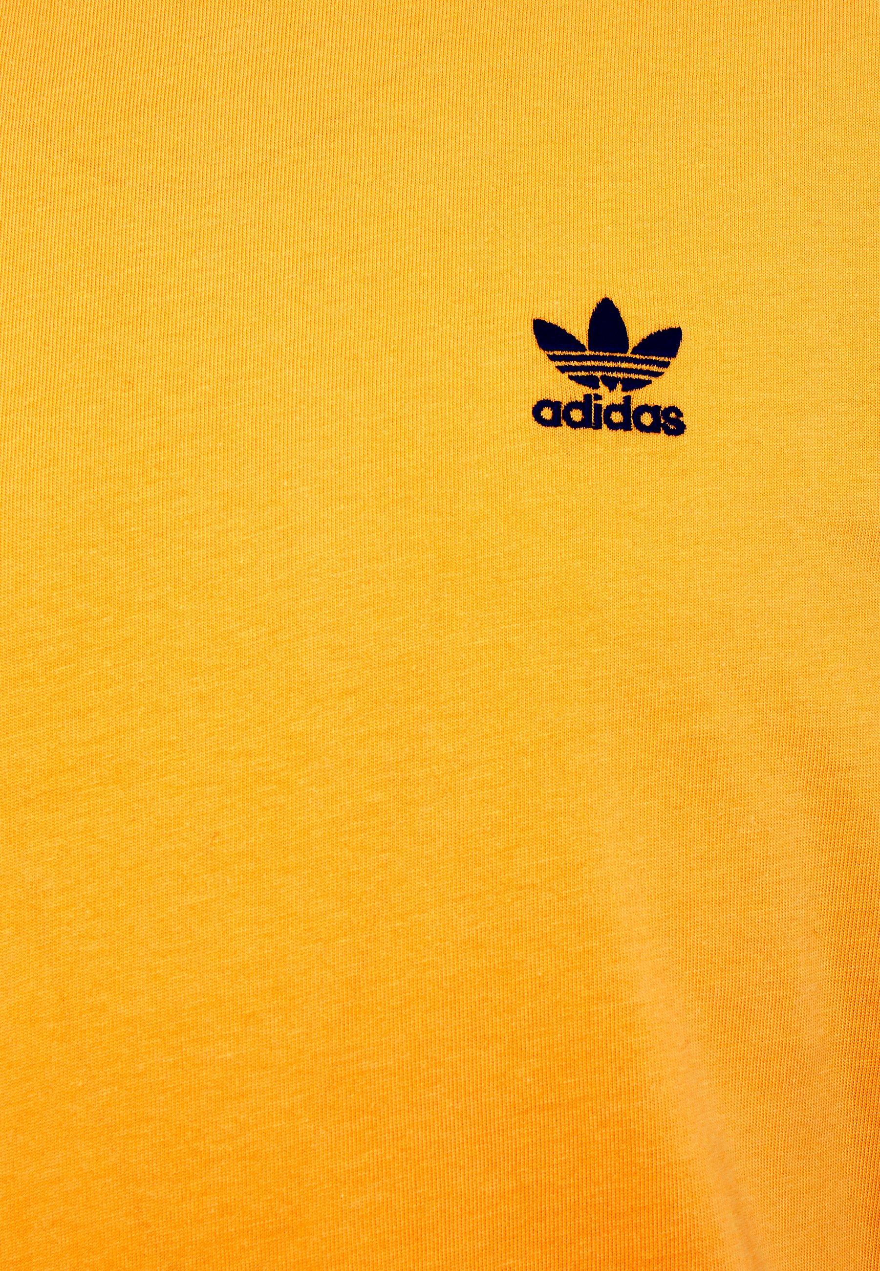 Adidas Originals Trefoil Tee - T-shirts Med Print Actgol/black/gul