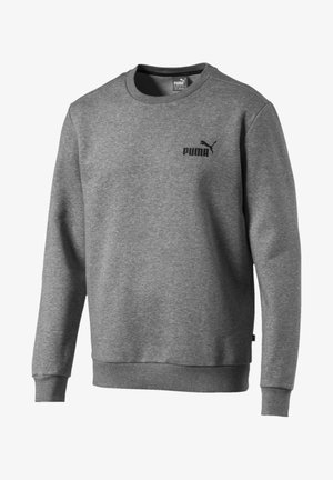 LOGO CREW - Sweatshirt - medium gray heather