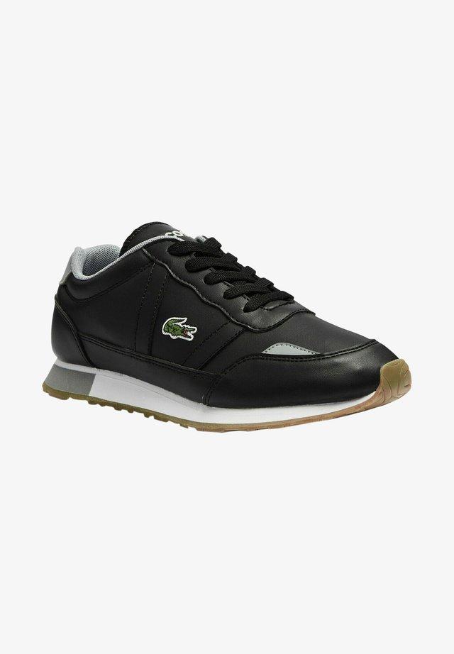 PARTNER UNISEX - Sneaker low - blk/gry