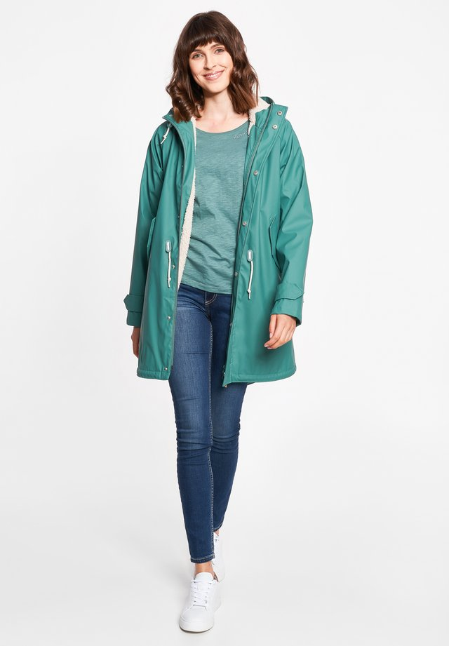 TRAVEL COZY FRIESE RC - Parka - sage green