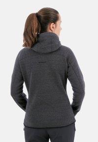 Mammut - ARCTIC  - Fleece jacket - phantom-black melange - 1