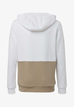 LARGE TREFOIL HOODIE - Jersey con capucha - white
