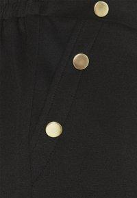 Vila - VITINNY BUTTON - Shorts - black - 5