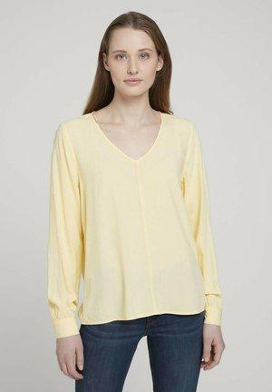 Blouse - soft yellow