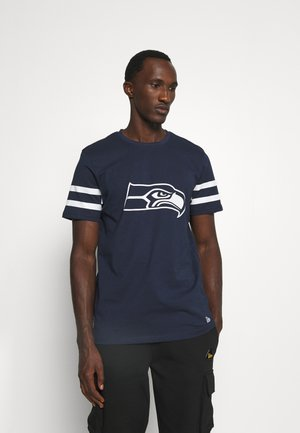 NFL SEATTLE SEAHAWKS INSPIRED TEE - Club wear - dark blue