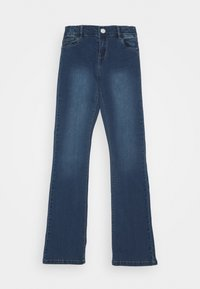 Name it - NKFPOLLY PANT - Jeans Bootcut - dark blue denim - 0