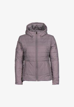 Winter jacket - slate purple / blackout purple