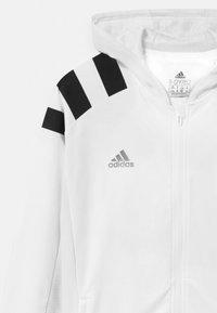 adidas Performance - UNISEX - Training jacket - white/black/gold - 2