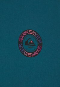 Quiksilver - TIME CIRCLE YOUTH - Print T-shirt - blue coral - 2