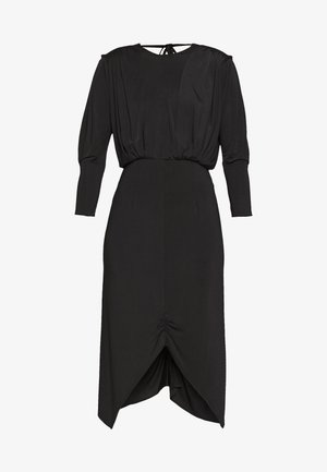 RUCHE DRESS - Etuikjole - noir