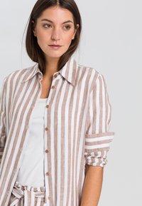 Marc Aurel - Shirt dress - camel varied - 2