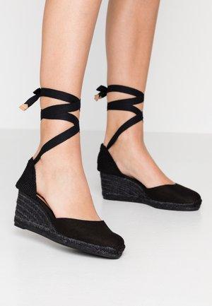CARINA - Sleehakken - black