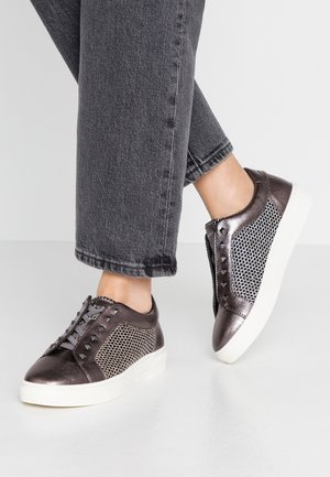 ELEA - Slip-ons - dark grey/metallics