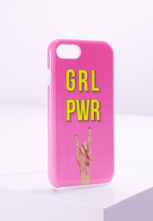 IPHONE 6/7/8 - Phone case - pink yellow