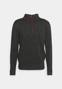 Calvin Klein Golf - MONACO  - Jumper - charcoal/red - 3