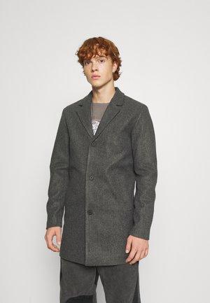 JJTYSON COAT - Kort kappa / rock - grey melange
