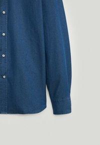 Massimo Dutti - Shirt - dark blue - 5