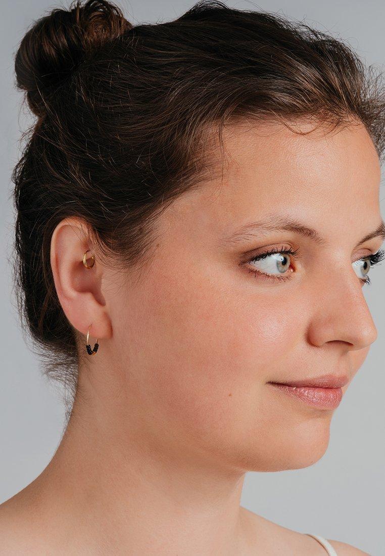 FOLKDAYS - Earrings - schwarz