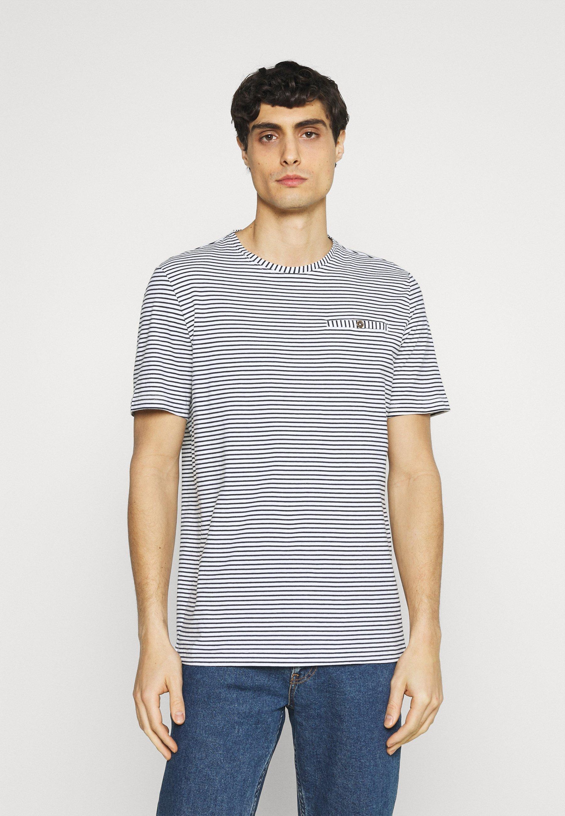 Men ALEX POCKET - Print T-shirt