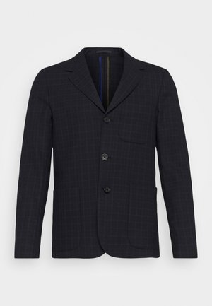 MENS JACKET UNLINED - Suit jacket - black