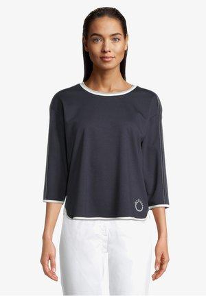MIT STEPPUNGEN - Sweatshirt - dunkelblau