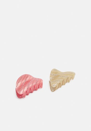 PCEMIA HAIRSHARK KEY 2 PACK - Hair styling accessory - zephyr/multi/clear