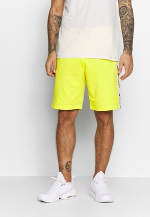 SHORTS TAPING - Sports shorts - blazing yellow