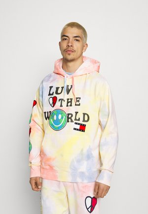 LUV THE WORLD HOODIE UNISEX - Collegepaita - multi-coloured