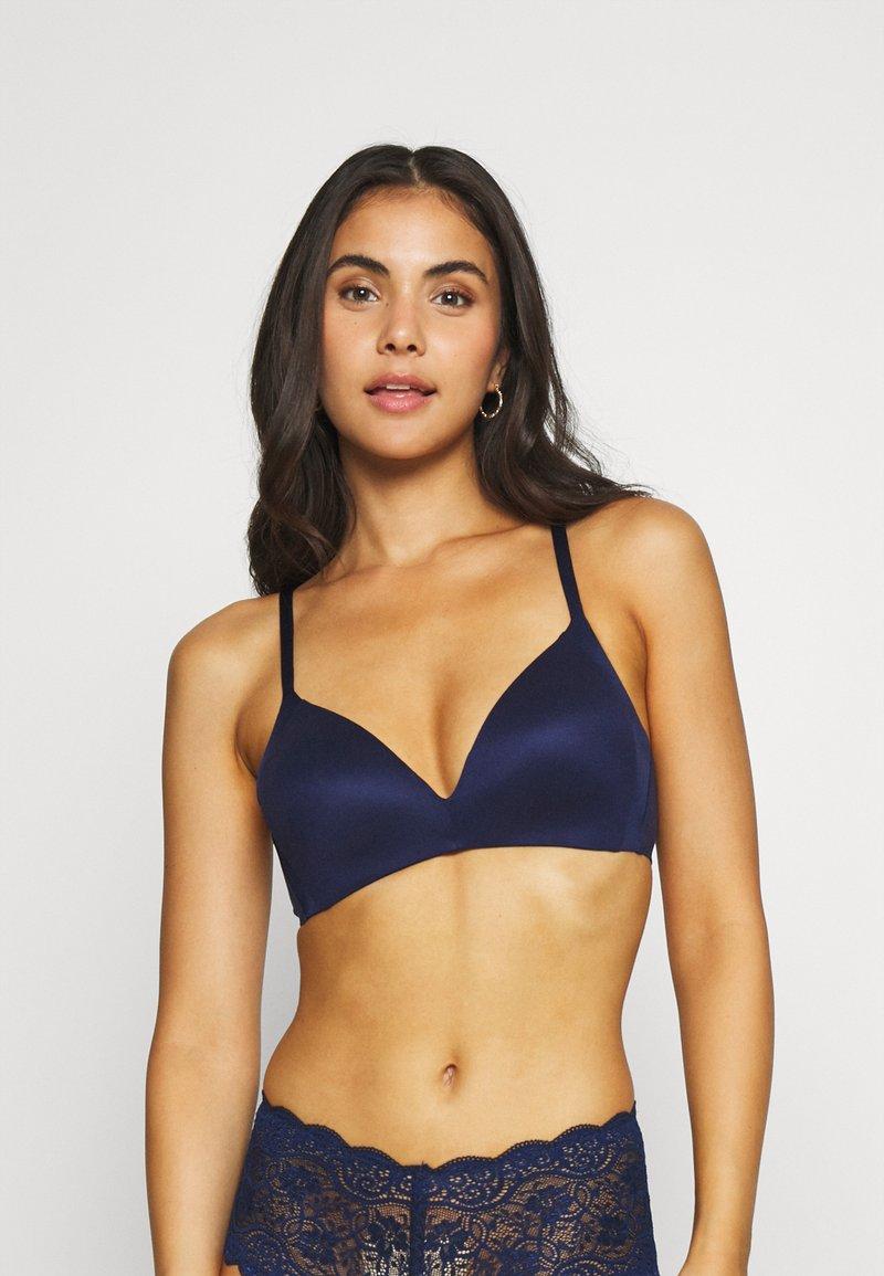 Triumph - BODY MAKE UP SOFT TOUCH - Triangle bra - navy blue