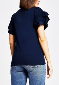River Island - Basic T-shirt - blue - 2
