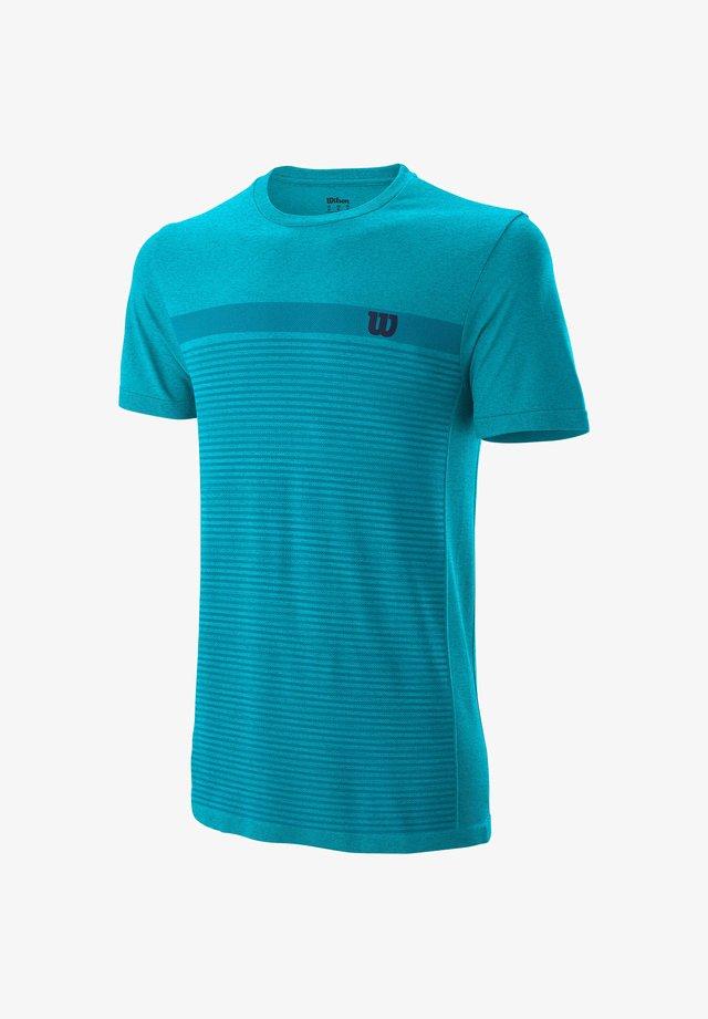 Print T-shirt - aqua (297)