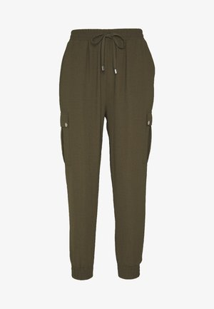 Spodnie materiałowe - khaki