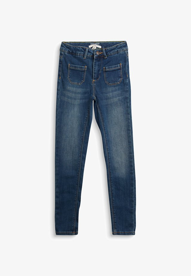 Jeggings - blue medium washed