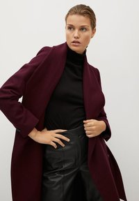 Mango - IN WICKEL-OPTIK - Winter coat - bordeaux - 4