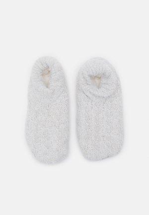 WOMEN COSY HOMESLIPPERS - Sokken - fog