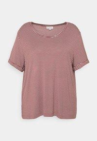 CARNANNA  - Print T-shirt - apple butter/cloud dancer