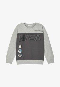 Name it - NASA  - Sweatshirt - grey melange - 0