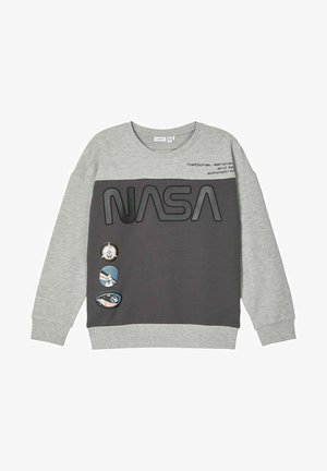 NASA  - Sweatshirt - grey melange