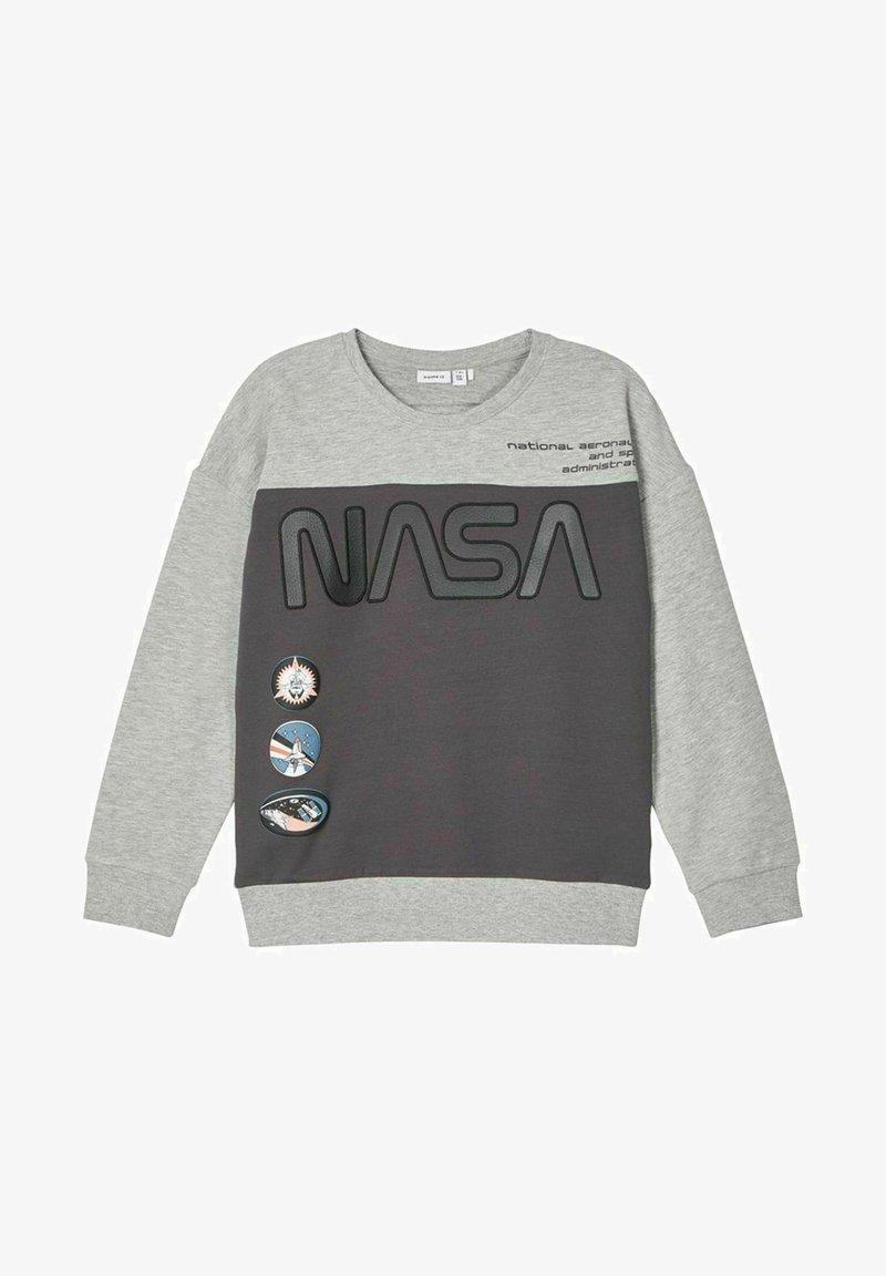 Name it - NASA  - Sweatshirt - grey melange