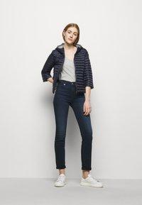 Colmar Originals - LADIES JACKET - Down jacket - navy blue/light steel - 1