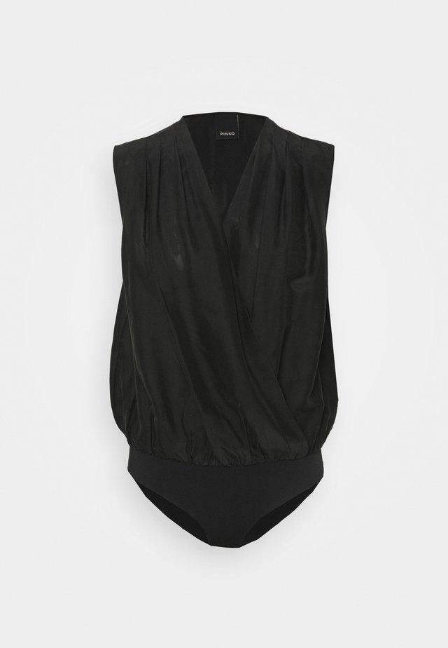 INES BODY HABUTAY SOFT TOUCH - Blusa - black